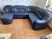 Sofa echtes Leder gut wie