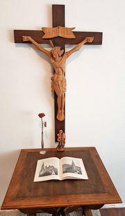 Altes Wand Kruzifix Kreuz Kloster
