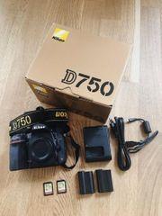 Nikon D750 OVP inkl Zubehör