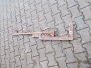 Absperrhalter-Geländerhalderungen