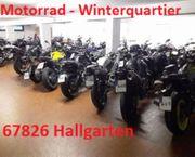 Motorrad Winterquartier in 67826 Hallgarten