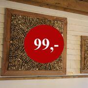 Wandbild Holzrahmen 100 x 100