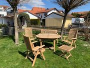 TEAK Premium Outdoor-Möbel-Set