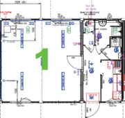 Bürocontainer Wohncontainer Containeranlage kaufen - 468