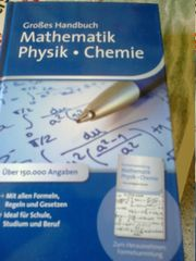 Großes Handbuch Mathematik Physik Chemie