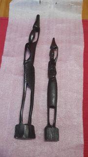 afrikanische Figuren Holz Afrika Deko