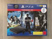 Sony PlayStation 4 Konsole inkl