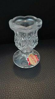 Kerzenständer aus Glas Tafelkerzen Deko