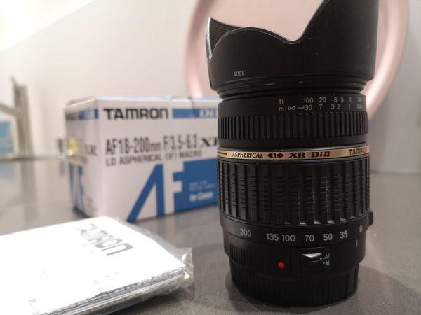 Tamron Objektiv AF-18-200 F 3