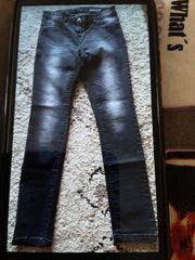 Graue Jeans Größe 40