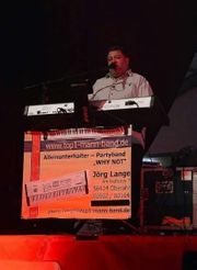 Party DJ und Livemusik