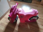 Bobbycar Motorrad rosa für Mädchen