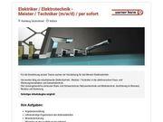 Elektriker Elektrotechnik - Meister Techniker m