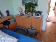 Komplettes Schlafzimmer set Bett Kommode