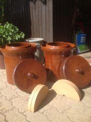 Gärtopf Keramik