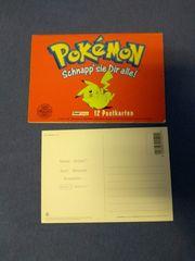 Pokemon Postkarten