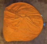 Oranger Sitzsack Sitz Sack Orange