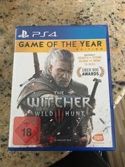 THE WITCHER WILD HUNT GAME