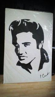 Bild von Elvis Presley hand