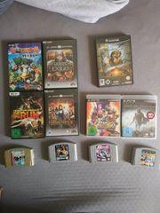 diverse Videospiele