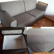 IKEA Sandby 3-er Sofa und