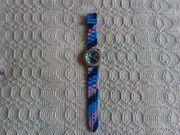 Uhr Armbanduhr Damen Silikon-Armband