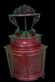 original antik China 1900 Eckschrank