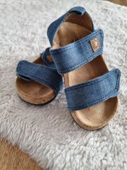 Sandalen Gr 22 blau von