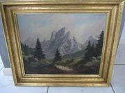 Ölgemälde deutscher Maler Campe 62
