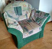 Polstergarnitur Sessel