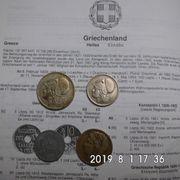 Griechenland alte Drachmen 1922-1930