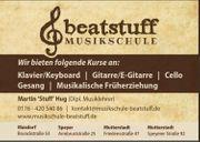Klavier- Gitarren- Gesangs- Cellounterricht Musikalische