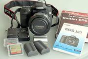Spiegelreflexkamera-Kit Canon EOS 50D plus
