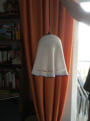 Lampe aus Muranoglas Jugendstil - einzigartig