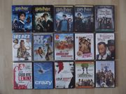 Verkaufe 95 DVD Filme