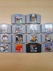 Verschiedene Nintendo64 Spiel in Sammler