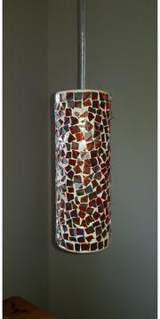 Lampe mit Mosaiksteinen