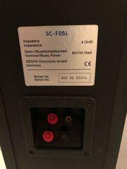 Gebrauchte Denon SC-F05L Lautsprecher
