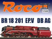 ROCO TT 36027 DB Dampflokomotive