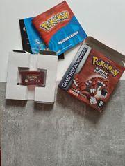 Pokemon Rubin Edition OVP GameBoy