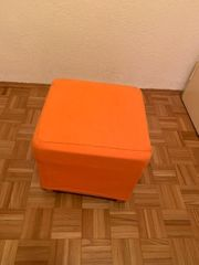 Hocker Orange 3er-Set