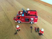 Playmobil Feuerwehr Löschfahrzeug mit Blau-Licht