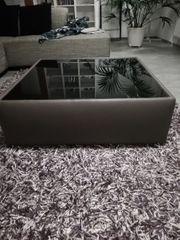 Couch Tisch Candy schwarzglas