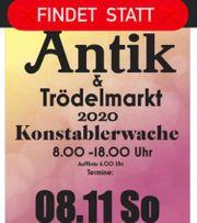 Findet Statt Antikmarkt und Trödelmarkt