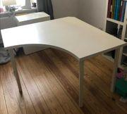 LINNMON Ikea Schreibtisch Ecktisch zu