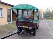 Kleiner Planwagen zu verkaufen