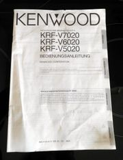Bedienungsanleitung Kenwood Receiver