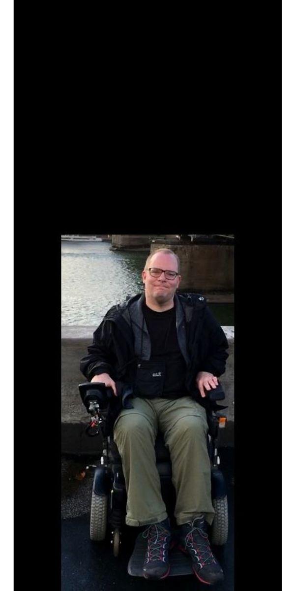 Rollstuhlfahrer 42 Köln