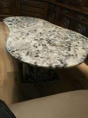 Marmor Tisch in Nierenform Neu