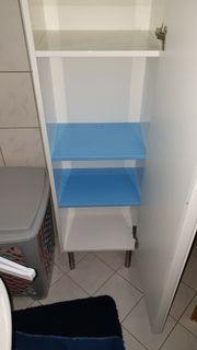 Neuwertiger Badschrank weiß Hochglanz